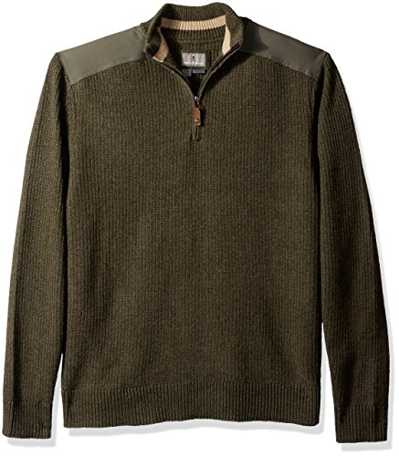 Royal Estate Green (Royal Robbins Men's Fishermans 1/4 Zip Sweater, Loden, Large)
