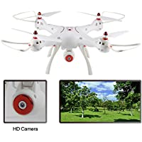 Thread_us X8SW RTF WiFi FPV RC Quadcopter Droner 0.3MP Camera 2.4GHz 4-Channel 6-Axis Gyro (equivalent to 2 million pixels in general aircraft)