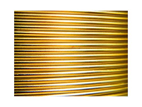 10/metros Inal/ámbrico Aluminio Oro 2,5/mm
