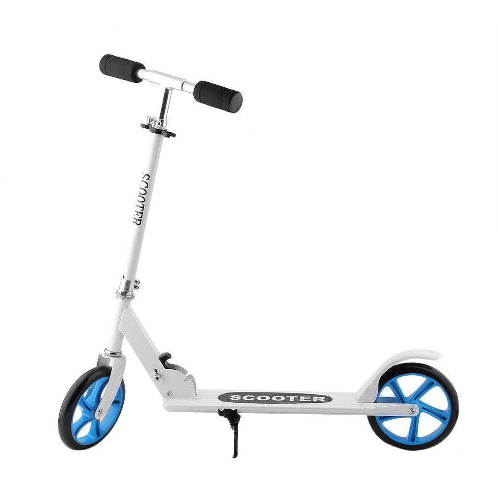 Homgrace Scooter Roller Klappbar Big Wheel Tretroller Cityroller Kickscooter Tret-Roller 2 R/äder Kinderroller 205mm Aluminium Scooter Belastbar bis 100 kg 95-106cm H/öhenverstellbar