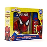 Marvel - Spider-man Little Flashlight Adventure Pop-Up Board Book - Play-a-Sound - PI Kids