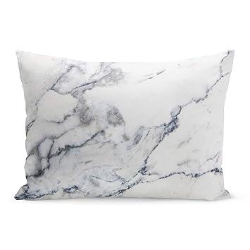 Amazon.com: Fundas de almohada semtomn blanco rojo lunares ...