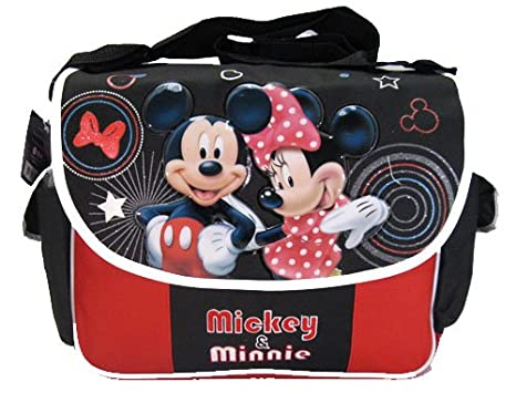 8bcbde943e Image Unavailable. Image not available for. Color  Disney Mickey   Minnie  Mouse Messenger Bag- ...