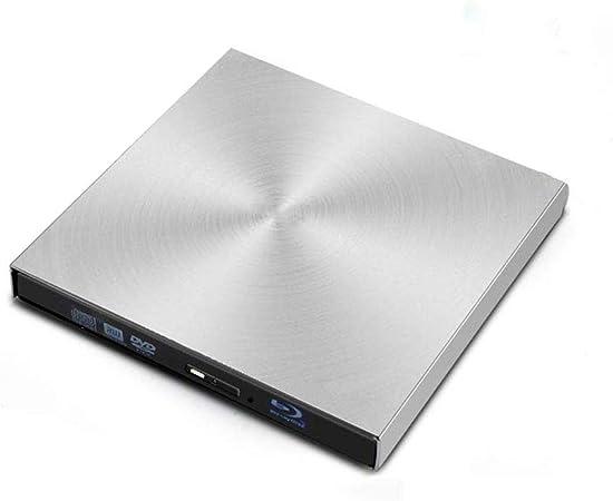 T osuny Externes optisches Laufwerk Schwarz USB 3.0 4K Bluray Player Verschiedene Formate BD//3D//CD//DVD//VCD-Reader Plug-and-Play-BD-RE-Recorder f/ür Windows 7//8//10 Computer