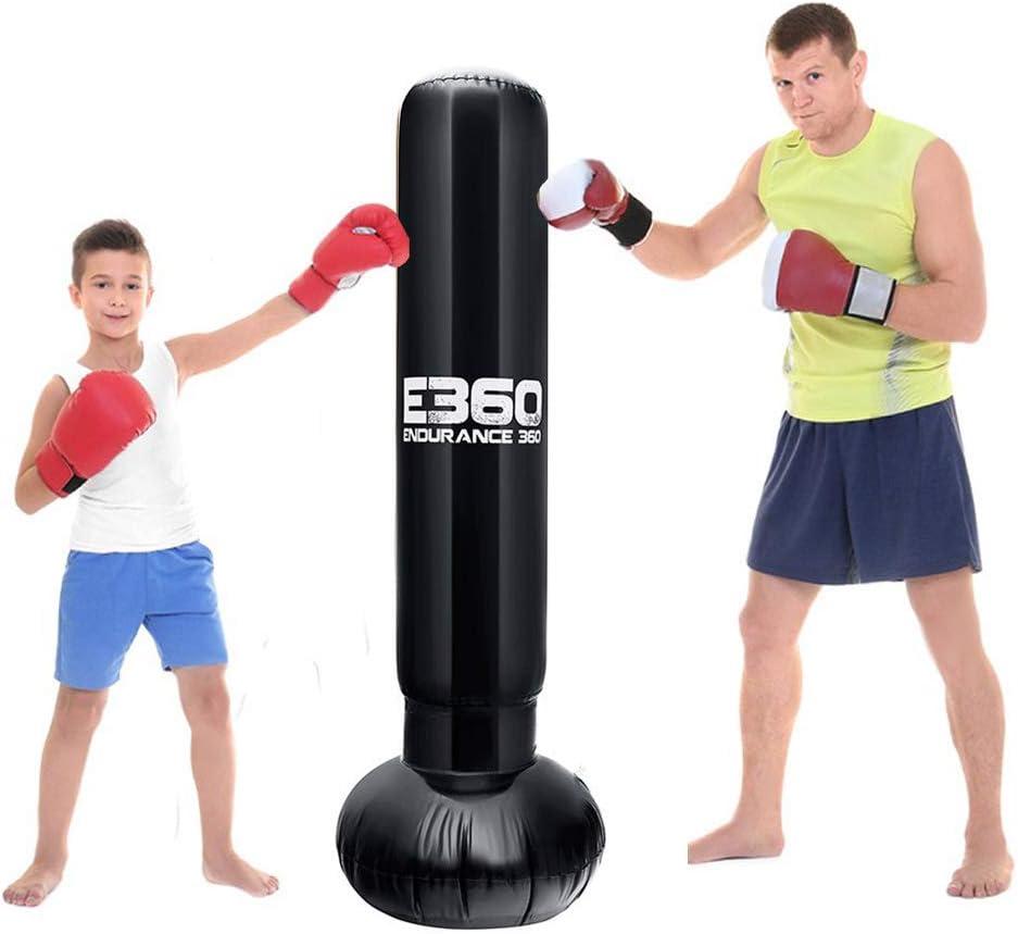 サンドバッグ スタンディング 空気 パンチバッグ 家庭用 ストレス 運動不足解消 エクササイズ トレーニング 気分転換 子供 大人用 エアーポンプ付き