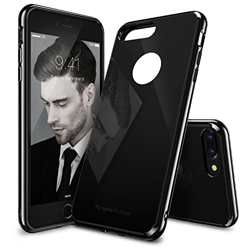 Ringke iPhone 7 Plus Case, [FUSION] Tough PC Back TPU Bumper [Drop...