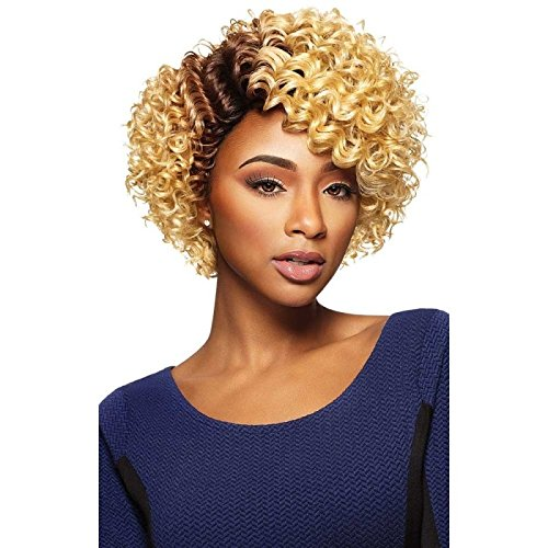 LOLO (1B Off Black) - Outre Syntetic Quick Weave Complete Cap Wig
