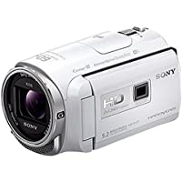 SONY HD video camera Handycam HDR-PJ670 white optical 30 times HDR-PJ670-W [International Version, No Warranty]