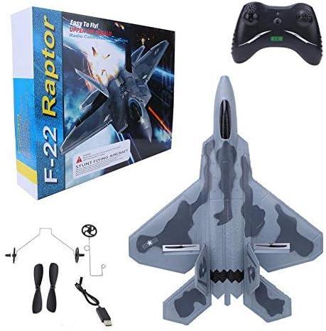 Planeador eléctrico RC, FX-822 EPP Avión de Combate teledirigido Drone Modelo Juguete para niños