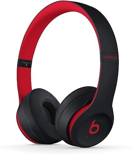 Beats Solo3 casque sans fil Defiant Black Red:
