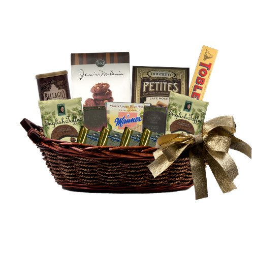 Houston Baptist Special Treasures Medium Gift Basket 'HBU'