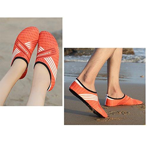 Mens BOZEVON Style Shoes 3 Diving Snorkeling C Surf Aqua Womens drWwg0qr