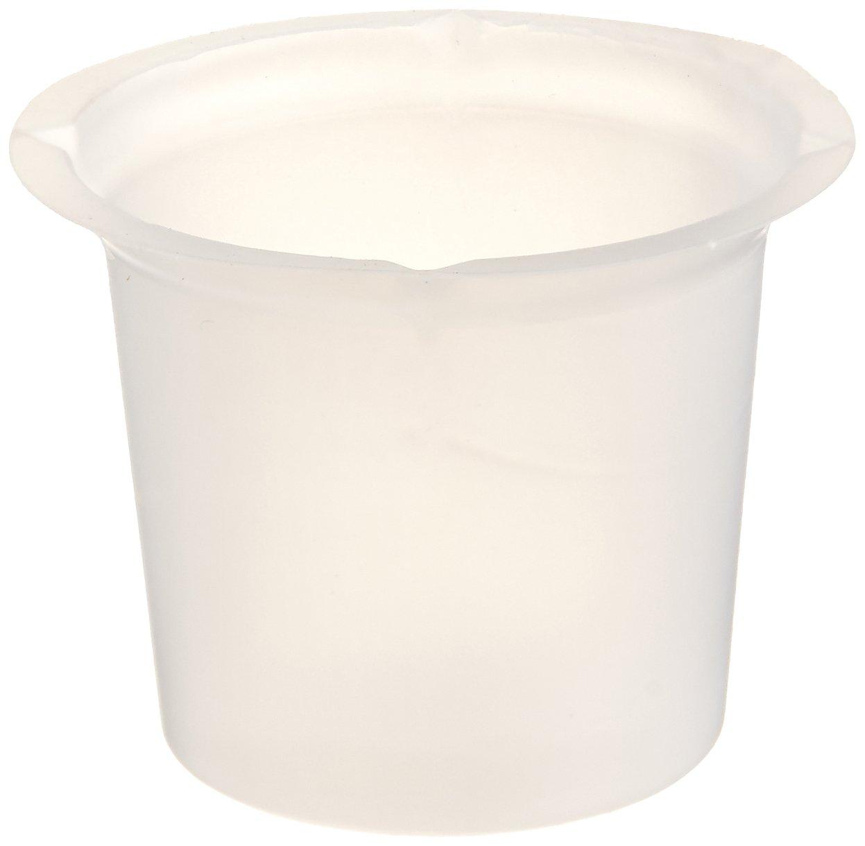 Dyn-A-Med 80090 Polystyrene Disposable Beaker, 20 ml Capacity (Pack of 500)