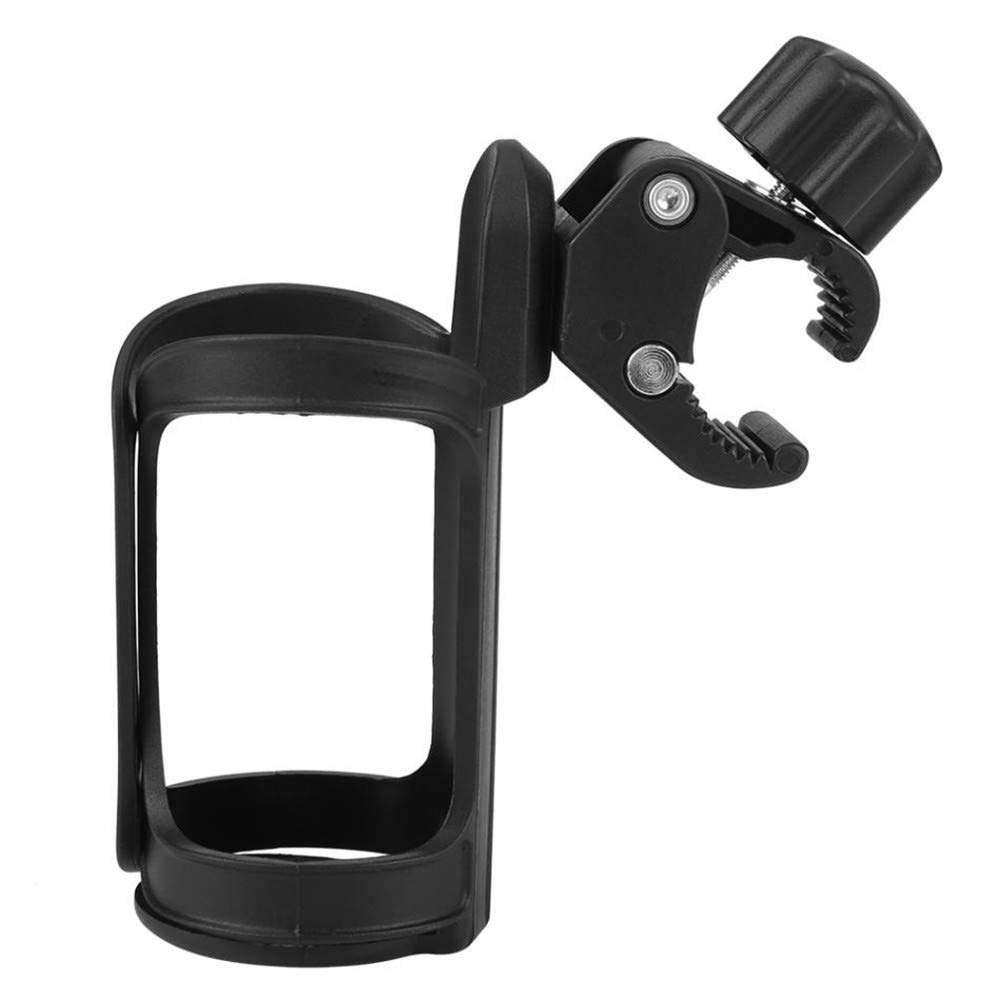 Stroller Cup Holder 360 Degree Upgrade Drink Cup Holders For Wheelchair,Bike and Strollers 2 Pack