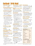 Microsoft Outlook 2010 Mail Quick Reference Guide (Cheat Sheet of Instructions, Tips and Shortcuts - Laminated Card), Beezix Inc, 1936220164