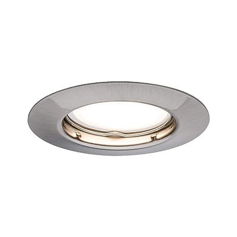 Paulmann – Plafón LED (EBL, incluye bombilla: GU10 4,5 W 340LM