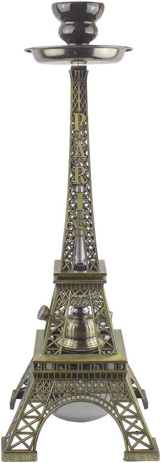 Shisha de diseño París Premium - 42 centímetros - Torre Eiffel - Cachimba Hookah premium BT-002
