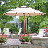 11 Ft Triple Tier Umbrella Replacement Canopy Top Cover For Sale