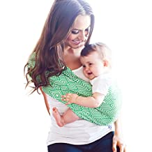 HOTSLINGS Adjustable Pouch Baby Carrier Sling, Large, Green