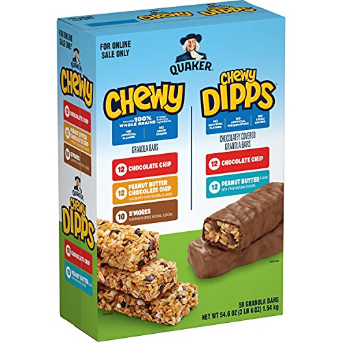 Quaker Chewy Granola Bars, Chewy & Dipps Variety