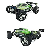 TruReey RC Car High Speed 45MPH 4x4 Racing Cars 1:18 SCALE 4WD ELECTRIC POWER W 2.4G Radio Remote control Off Road Buggy Truck Powersport Roadster RTR Fast - Green