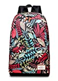 Mirthlife Loop Backpack, Great for High School, College Backpack, School Bag, Tablet Sleeve, Perfect for Travel, Men and Women's Backpack (Red)