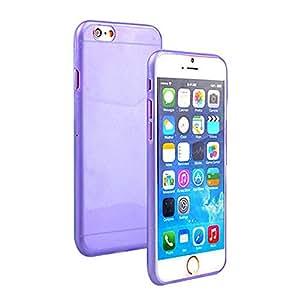 "VIKEN 1 Pcs Ultra Thin Slim Crystal Clear Soft TPU Cover Case Skin for 4.7"" Iphone 6 (Purple)"
