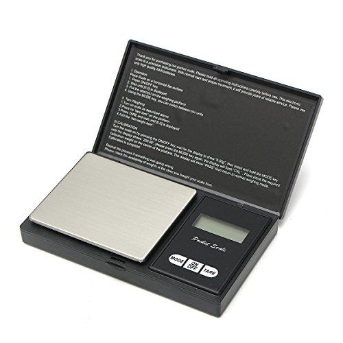 OKIl 0.01g-500g Electronic Pocket Mini Digital LCD Gold Weig