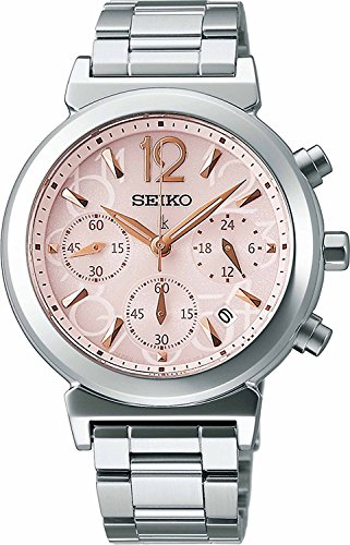 SEIKO WATCH watch LUKIA Rukia solar sapphire glass super clear coating for everyday life waterproof SSVS015 Ladies