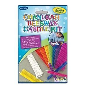 Amazon.com: Chanukah Beeswax Candle Making Kit