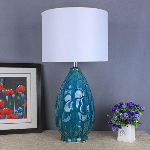 YFF@ILU Traditionelle Chinesische dekorative Keramik Tischleuchte - kreativen Wohnzimmer Schlafzimmer Nachttischlampe