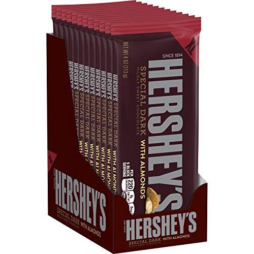 HERSHEYS Holiday Chocolate Candy Almonds