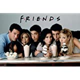 Friends Milkshake TV Poster Print - 24x36