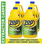 Zep All-Purpose Carpet Shampoo ZUCEC128 (Formerly called Carpet Extractor) (Case of 4)