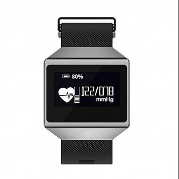 Smart Watch Tensiómetro de medición Sport Reloj Frecuencia Cardíaca Fitness Actividad podómetro Smart Armband mando a cámara sess hafte Recuerdo Para ...