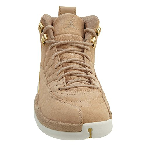 Air Tan Scarpe metalli Jordan Da vachetta Retro Multicolore Donna 12 Fitness 203 Wmns HwS4pSx