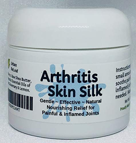 ARTHRITIS SKIN SILK! Pain Relief! Fights Inflammation. Soothing to body & soul. Holistic, NATURAL Healing Balm. Shea Butter Salve. Essential Oils relieve pain! (Anti Gel Inflammatory)