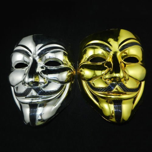 AA fo (Anonymous Mask Costume Ideas)