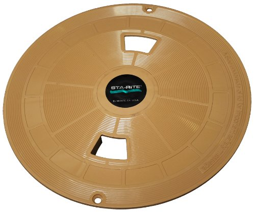 Pentair 08650-0158 Tan Lid  Replacement for select Sta-Rite U-3 Pool and Spa Skimmer ()