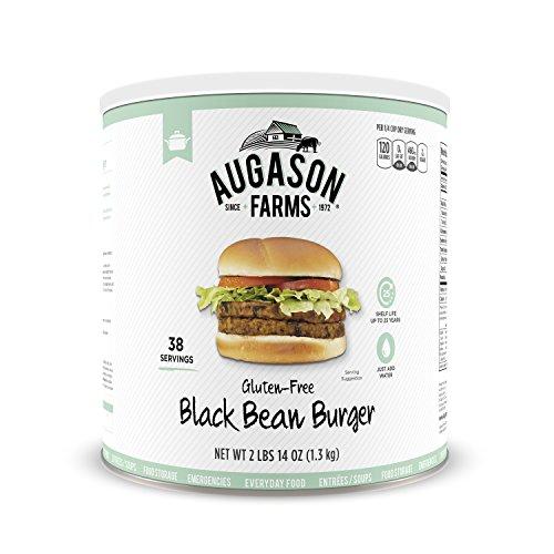 Price comparison product image Augason Farms Gluten-Free Black Bean Burger 2 lbs 14 oz No. 10 Can