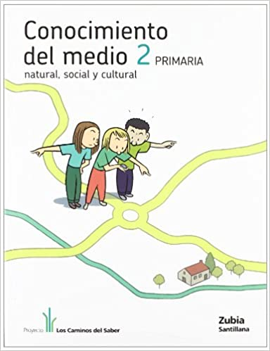 Descarga de la colección de libros de Kindle CONOCIMIENTO DEL MEDIO 2 PRIMARIA LOS CAMINOS DEL SABER 8498941202 PDF PDB