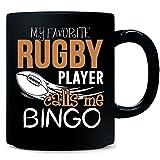 My Favorite Rugby Player Calls Me Bingo - Mug