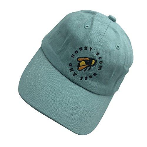 Golf Wang Baseball Cap Bee Dad hat Embroidery Baseball Cap Cotton Dad Hat Unisex Green