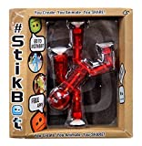 Stikbot, Translucent Red Stikbot Figure, 3 Inches