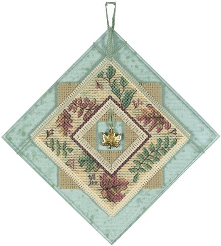 Daydreams Autumn Charm Counted Cross Stitch Kit-5