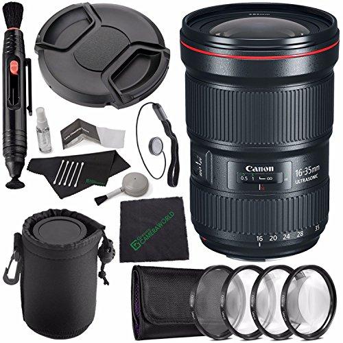 Canon EF 16-35mm f/2.8L III USM Lens + 82mm +1 +2 ...