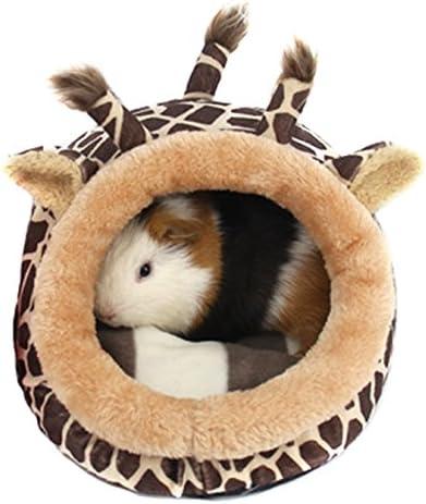 Cama de felpa suave con almohadilla extraíble para gatitos o mascotas pequeñas