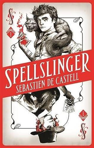 book cover of Spellslinger