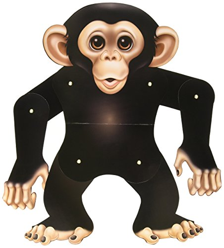 Beistle 54159 Jointed Monkey, 22-Inch ()