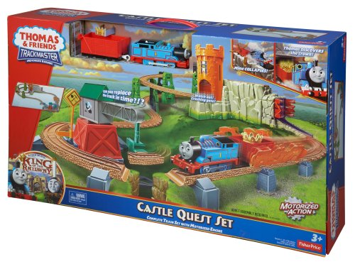 Thomas Amp Friends Fisher Price Trackmaster Castle Quest